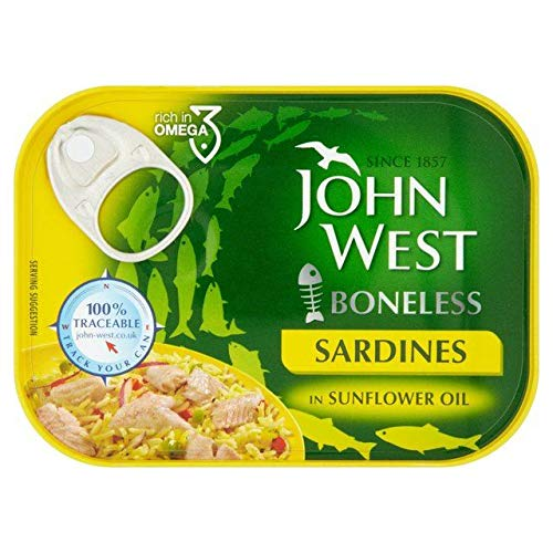 John West Boneless Sardines Sunflower Oil 95g