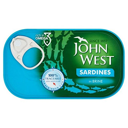 John West Sardinen In Salzlake 120 G