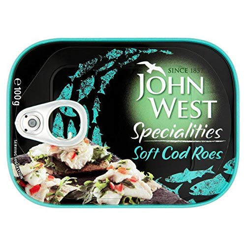 John West Soft Cod Roes 100g by John West