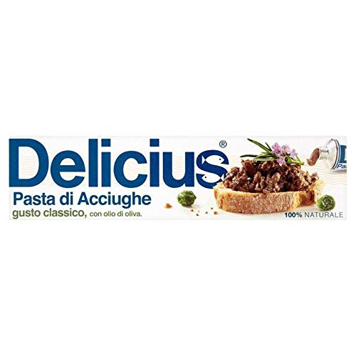 Delicius Anchovy Paste with Olive Oil Gusto Classico 60g