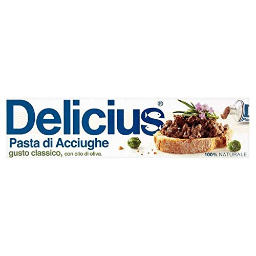 Delicius Anchovy Paste with Olive Oil Gusto Classico 60g - 2