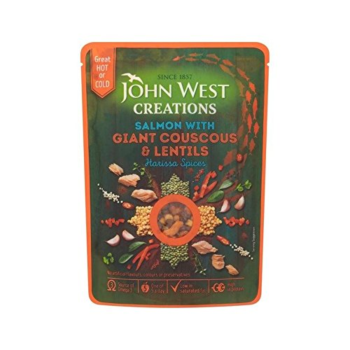 John West Harissa Kreationen Lachs 180G