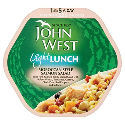 John West marokkanischen Stil Salmon Light Lunch 220g