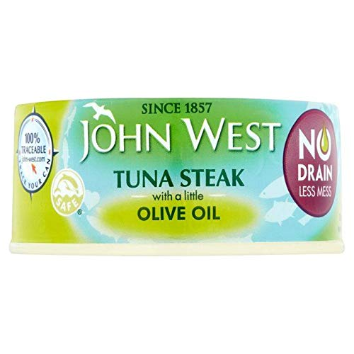 John West No Drain Tuna Steaks Olive Oil 110g - 2