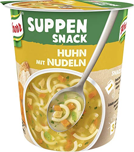 Knorr Suppen Snack Huhn mit Nudeln, 39 g - 4