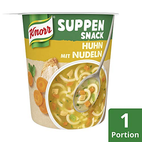Knorr Suppen Snack Huhn mit Nudeln, 39 g - 3