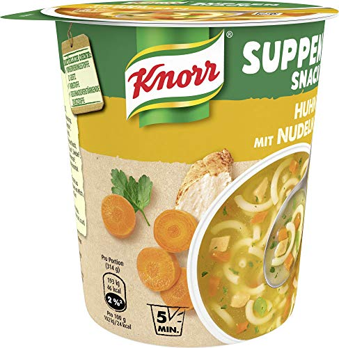 Knorr Suppen Snack Huhn mit Nudeln, 39 g - 5