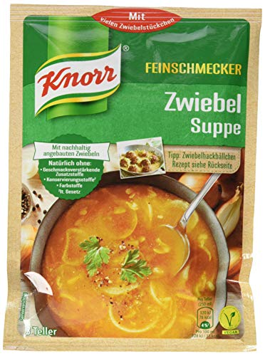 Knorr Feinschmecker Zwiebel Suppe, 14er Pack (14 x 500 ml)
