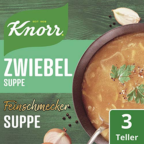 Knorr Feinschmecker Zwiebel Suppe, 14er Pack (14 x 500 ml) - 3