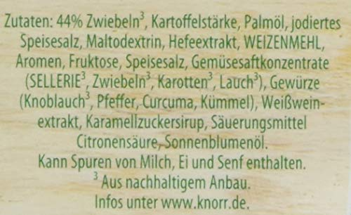 Knorr Feinschmecker Zwiebel Suppe, 14er Pack (14 x 500 ml) - 5