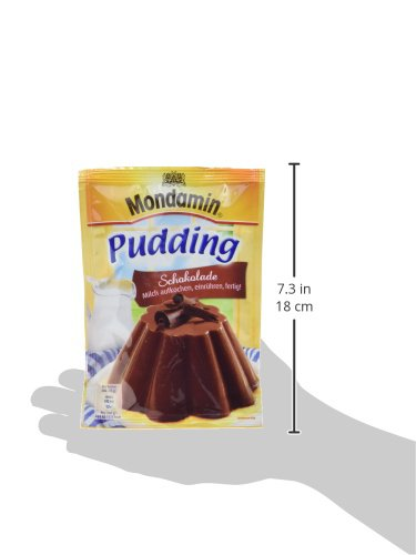 Mondamin Pudding Schokolade 3 Portionen, 13er Pack (13 x 133 gm) - 5