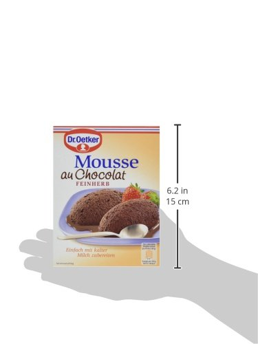 Dr. Oetker Mousse Au Chocolat Fein Herb, 86 g Packung - 4