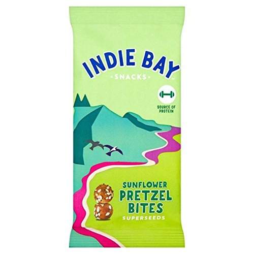Indie Bay Snacks Sunflower Pretzel Bites with Superseeds 26g
