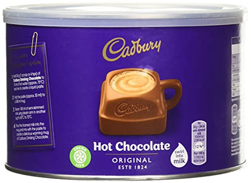 Cadbury Original Hot Drinking Chocolate 1000g