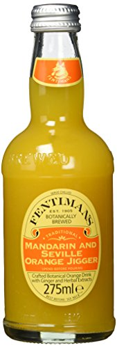 Fentimans Mandarin & Seville Orange Jigger, 12er Pack, EINWEG (12 x 275 ml)