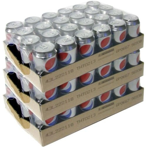 Pepsi Cola light Zuckerfrei, 72 x 0,33l Dose
