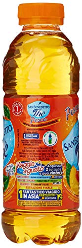 24x San benedetto Eistee Pfirsich The' Pesca PET 50 cl tea the erfrischend