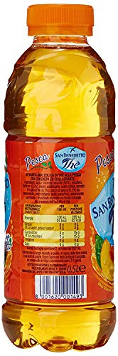 24x San benedetto Eistee Pfirsich The' Pesca PET 50 cl tea the erfrischend - 3