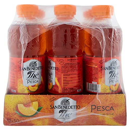 12x San Benedetto The Pesca 'Eistee Pfirsich', 500 ml inkl. Pfand - 4
