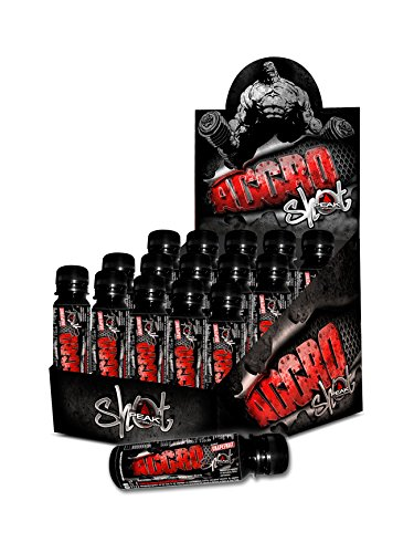 Peak Performance Aggro Energy Shot Energydrink Booster Trainingsbooster Bodybuilding Workout 15 x 60ml - Grapefruit