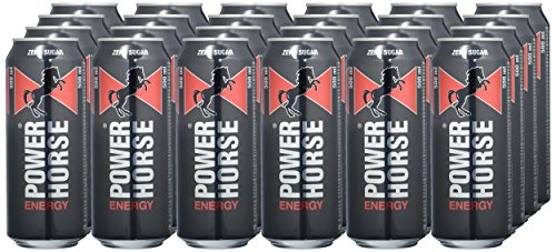 Power Horse Energy Drink Zero, 24er Pack, Einweg (24 x 500ml) - 2
