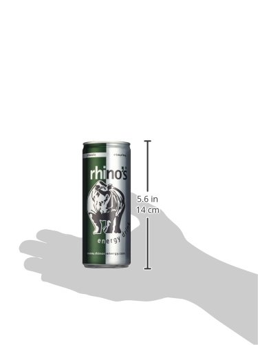 Rhino's Energy Drink Classic, 24er Pack, EINWEG (24 x 250 ml) - 3