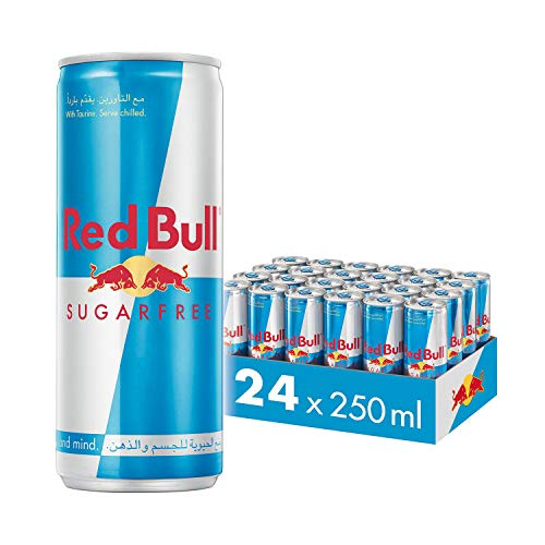 Red Bull Sugarfree Energydrink 24x 250 ml ohne Pfand