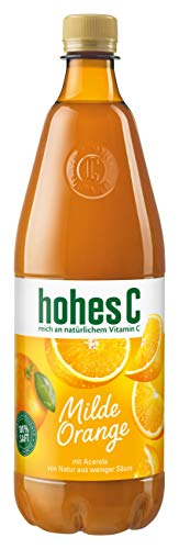 Hohes C Milde Orange - 100% Saft, 1 l