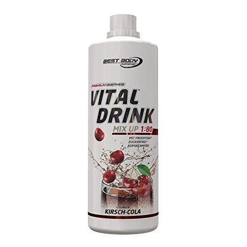 Best Body Nutrition - Low Carb Vital Drink, 1000 ml Flasche