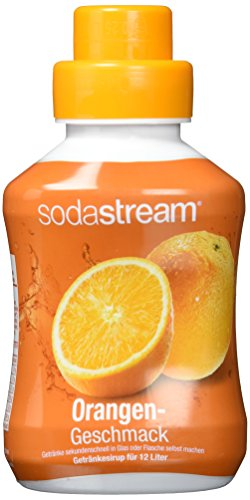 Sodastream Orange, 2er Pack (2 x 500ml Flasche)