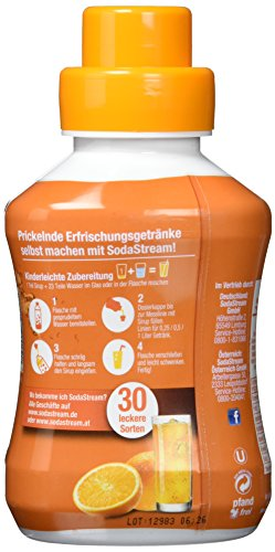 SodaStream 4er Sirup-Packung Orange (4 x 500ml) - 2