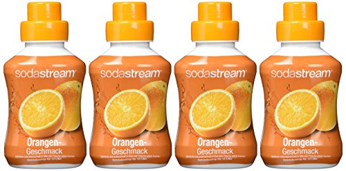 SodaStream 4er Sirup-Packung Orange (4 x 500ml) - 5