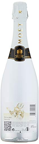 Moet & Chandon Ice Imperial Champagner in Holzkiste mit 4 Acryl-Gläsern (2 x 0.75 l) - 6