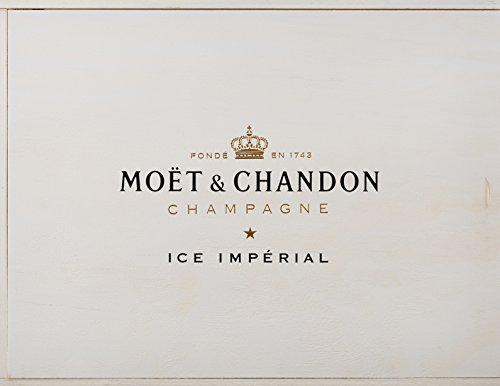 Moet & Chandon Ice Imperial Champagner in Holzkiste mit 4 Acryl-Gläsern (2 x 0.75 l) - 2