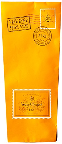 Veuve Clicquot Yellow Champagner Label Ice Letter Edition mit Geschenkverpackung (1 x 0.75 l) - 4