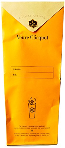 Veuve Clicquot Yellow Champagner Label Ice Letter Edition mit Geschenkverpackung (1 x 0.75 l) - 5