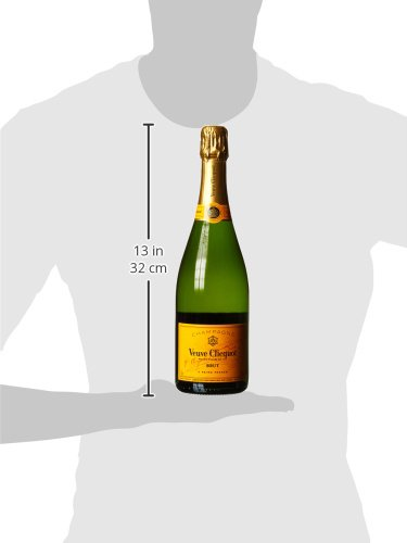 Veuve Clicquot Yellow Champagner Label Ice Letter Edition mit Geschenkverpackung (1 x 0.75 l) - 6