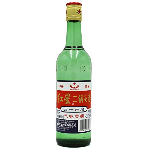 Er Guo Tou Jiu 500ml 56%vol. China Original Schnaps aus Hirse