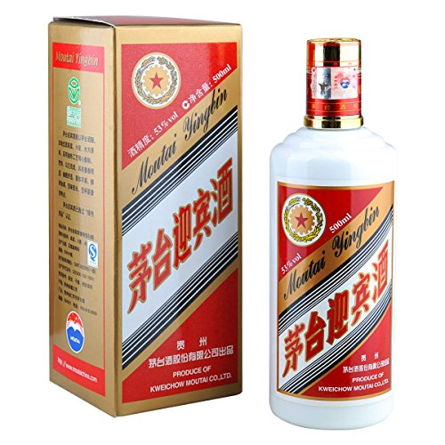 [ 500ml ] MOUTAI YINGBIN 53% Vol. Weinbrand aus China / Brandy / Maotai / Mautai