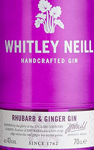 Gin Whitley Neill Rhubarb & Ginger 70 cl - 3