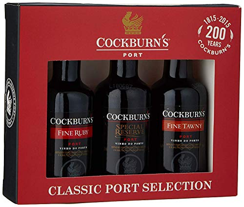 Cockburn's Classic Port Selection Gift Set (contains 3 x 5cl miniatures)