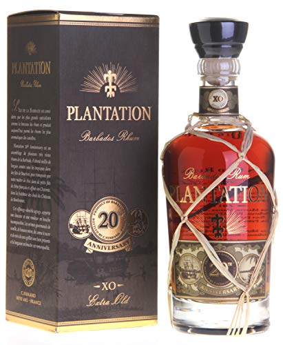 Cognac Ferrand Plantation Rum Barbados Extra Old, 20th Anniversary, 12 Jahre, 700ml