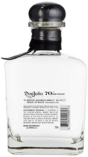 Don Julio 70 Tequila Añejo 70th Anniversary Limited Edition mit Geschenkverpackung (1 x 0.75 l) - 7