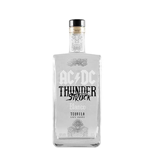 AC/DC Thunderstruck Tequila AC/DC Thunderstruck BLANCO Tequila de Agave Tequila (1 x 0.7 l) - 3