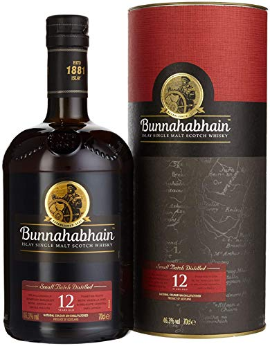 Bunnahabhain 12 Jahre - Islay Single Malt Scotch Whisky (1 x 0.7 l)