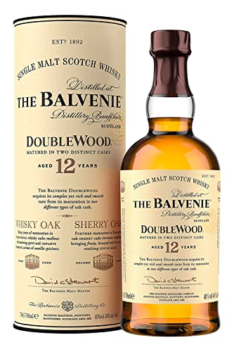 The Balvenie Doublewood Single Malt Scotch Whisky 12 Jahre (1 x 0.7 l)