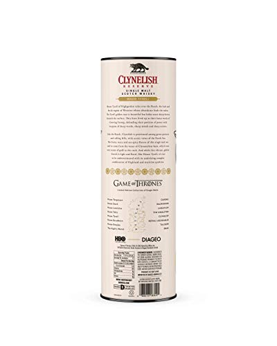 Clynelish Reserve Single Malt Scotch Whisky – Haus Tyrell Game of Thrones Limitierte Edition (1 x 0.7 l) - 4