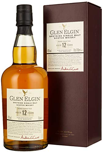 Glen Elgin 12 Jahre Speyside Single Malt Scotch Whisky (1 x 0.7 l)