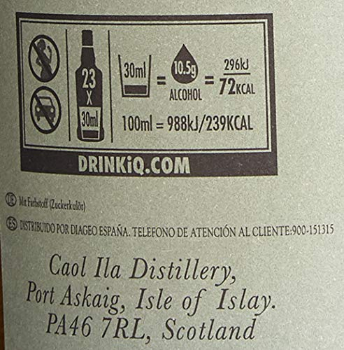 Caol Ila Moch Islay Single Malt Whisky (1 x 0.7 l) - 7