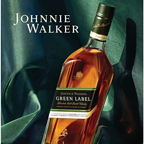 Johnnie Walker Green Label Blended Scotch Whisky (1 x 0.7 l) - 5